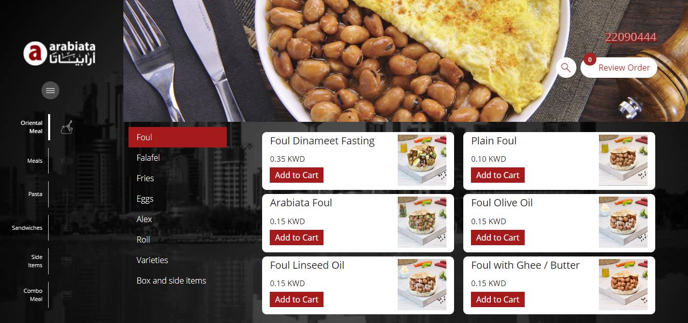 Arabiata Restaurant